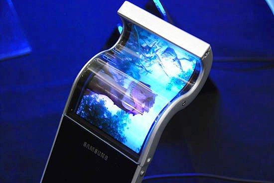 Samsung flexible amoled