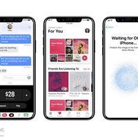 """Los nuevos renders del """"iPhone 8"""" usando iOS 11 hacen que su interfaz cobre todavía más sentido"""