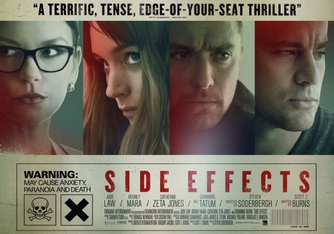 Cartel de Efectos secundarios (Side Effects)