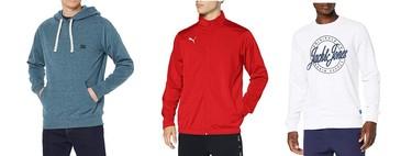 Chollos en tallas sueltas de  camisetas y sudaderas de marcas como Billabong, Puma o Jack & Jones en Amazon por menos de 25 euros