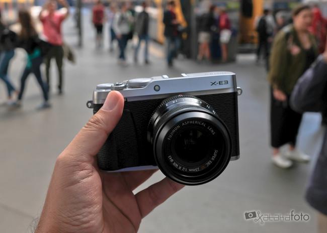 Fujifilm X-E3, toma de contacto y muestras: tratando de enamorar a los fotógrafos callejeros