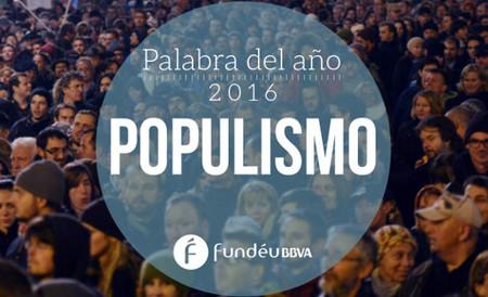 """Populismo es la """"Palabra del año"""" para Fundéu, pero nos gusta más hijueputa"""