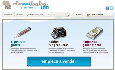 Demibebe: compra y venta de artículos seminuevos para bebés