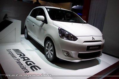 Mitsubishi Mirage, aprovechando el Salón de París