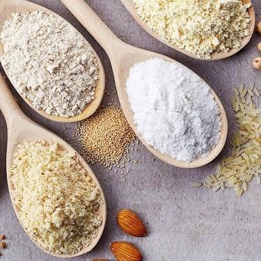 Harinas alternativas y saludables con las que puedes cocinar (además libres de gluten)