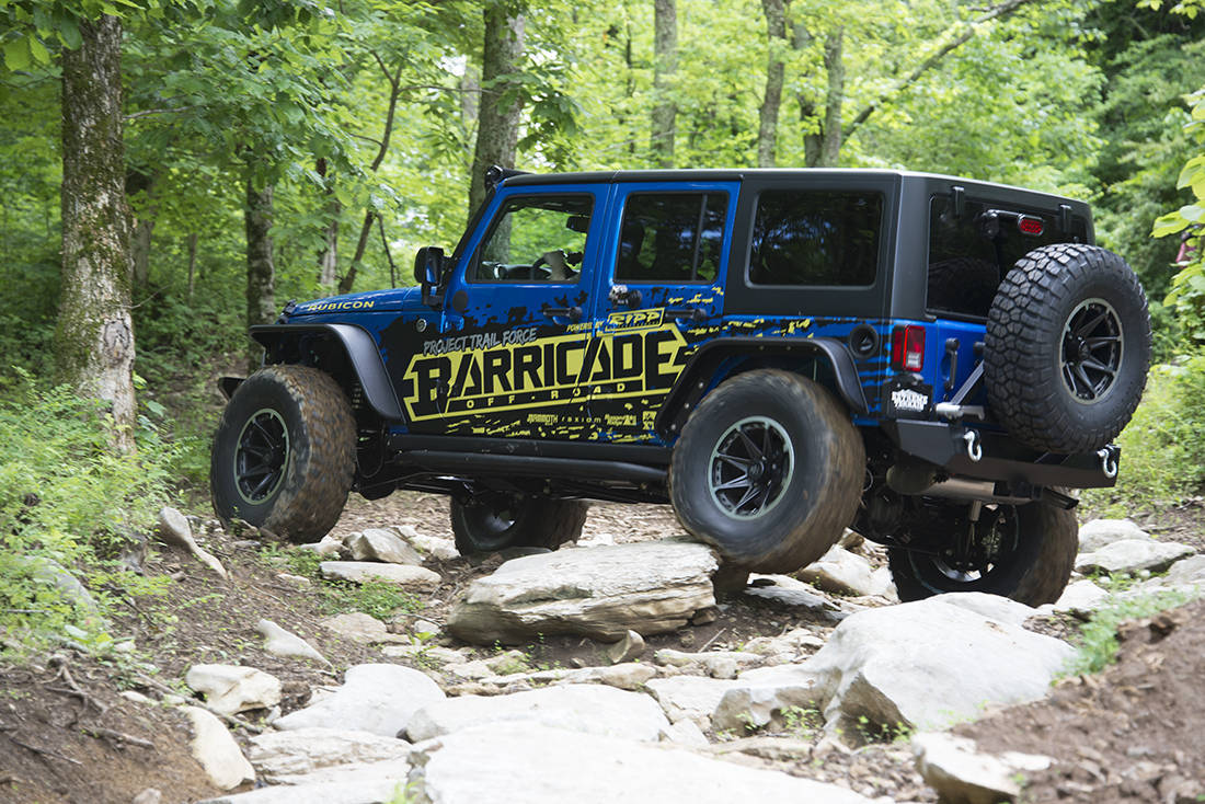 Jeep Wrangler Project Trail Force