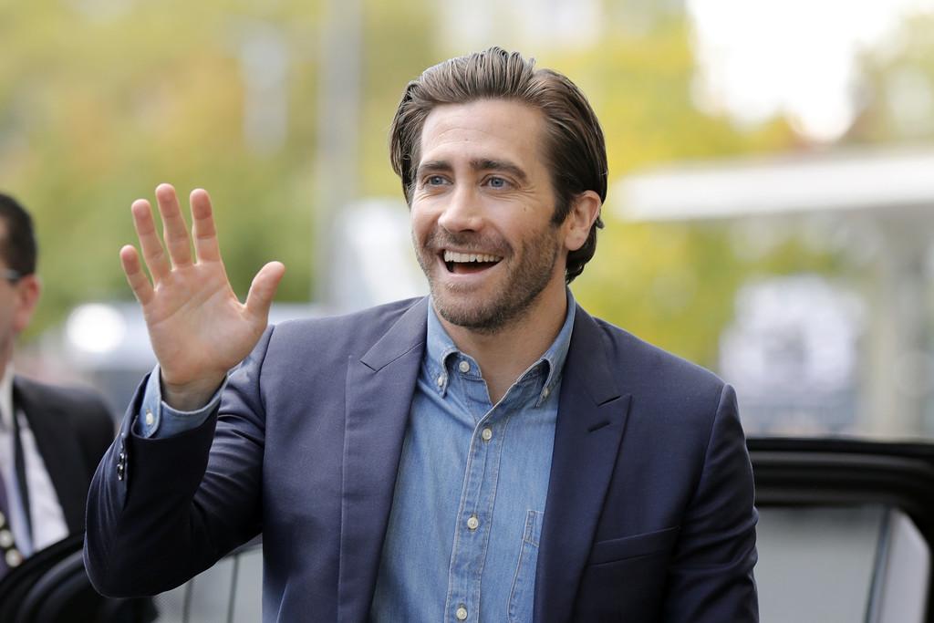 Jake Gyllenhaal Denim Shirt Zurich Film Festival 1