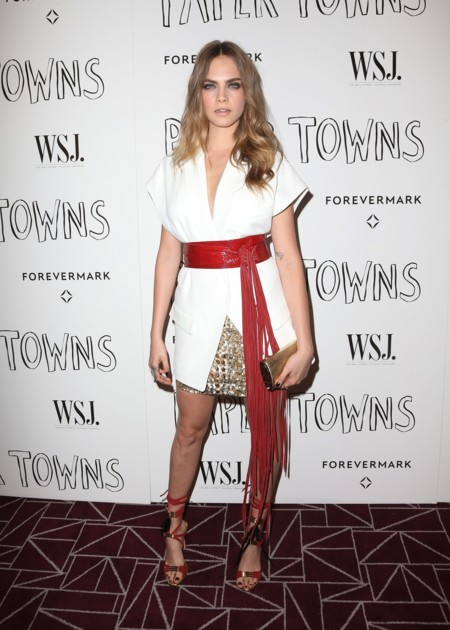 Cara Delevingne Kendall Jenner Kylie Paper Towns Los Angeles 2