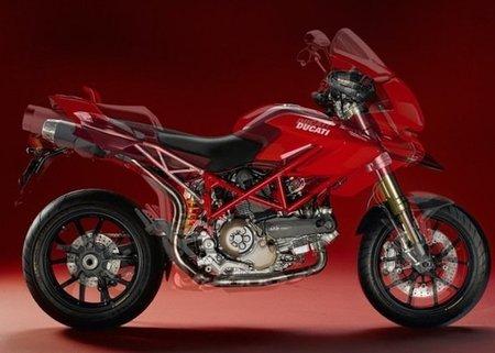 Moto Guzzi Stelvio 1200, transformación de Trail a Súpermotard