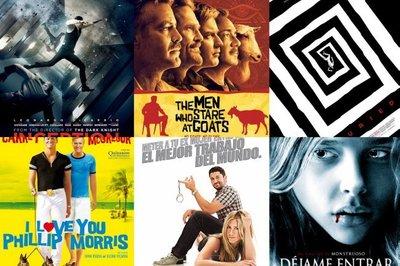 Los diez mejores y peores carteles de cine de 2010