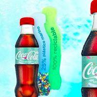 Esta marca de refresco lanza su primera botella de plástico reciclado con basura del mar