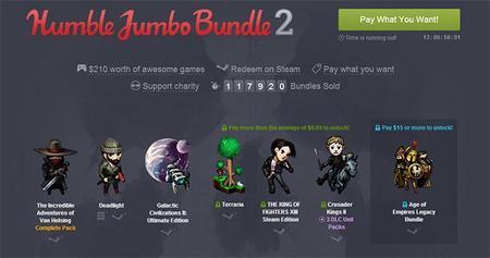 El nuevo Humble Jumbo Bundle incluye un gran producto español