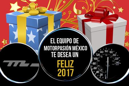 Los que hacemos Motorpasión México te deseamos un estupendo Año Nuevo