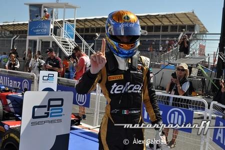 Esteban Gutiérrez y Luiz Razia ganan en Valencia, la GP2 se pone emocionante
