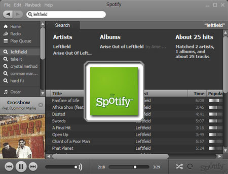 Pon música en tu oficina con Spotify