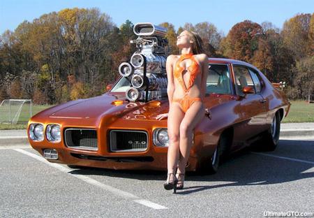"1970 Pontiac GTO ""The Judge"", 1.600 CV de potencia americana con vitaminas"