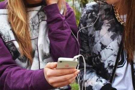 People Hand Iphone Smartphone
