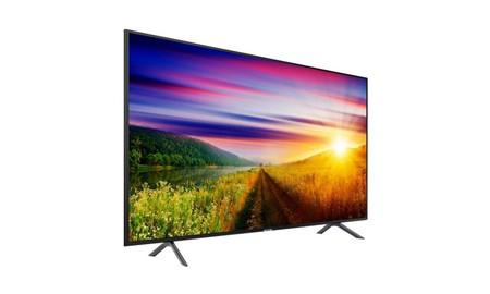 Diseño minimalista y 55 pulgadas 4K en la Samsung UE55NU7105, por sólo 699 euros en PcComponentes