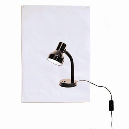 Flat Light Poster... aunque no lo parezca, es una lámpara