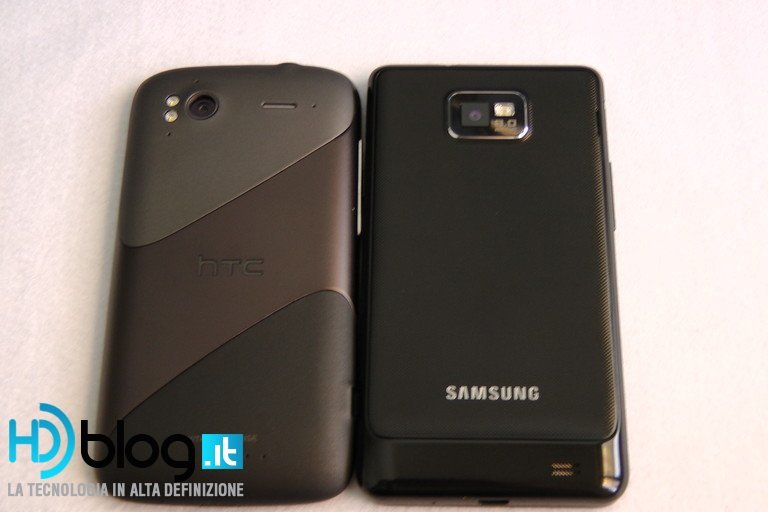 Samsung Galaxy SII vs. HTC Sensation