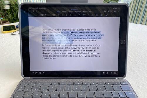 El soporte del ratón en las betas de Excel y Word es un paso de gigante en la productividad del iPad