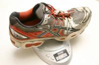 ¿Cuánto tienen que pesar mis zapatillas de correr?
