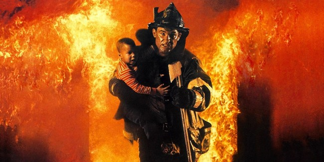 Backdraft Movie Poster Kurt Russell