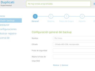 Una herramienta de respaldo gratuita para Windows, Mac y Linux que cifra tus archivos y los guarda en la nube