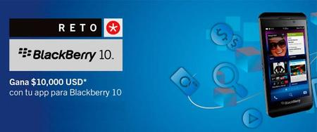 Anuncian el reto BlackBerry 10 en México