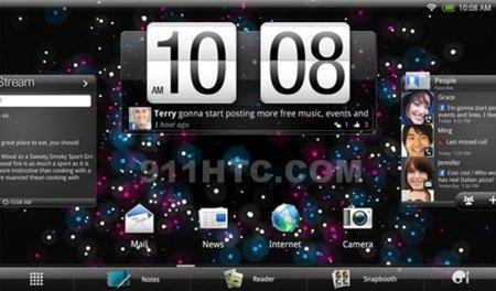 HTC Puccini, tablet de 10 pulgadas en el horizonte