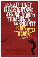 'Burn After Reading' de los Coen, póster
