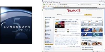 Lunascape Genesis 5 beta, el navegador que combina 3 motores a la vez