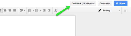 Draftback Revisiones