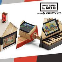 Nintendo Labo: diversión, creatividad y un toque de magia en su tráiler de lanzamiento