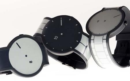 En Japón desarrollan un reloj con tinta electrónica que puede cambiar la correa y la pantalla