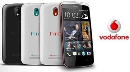 Precios HTC Desire 500 con Vodafone