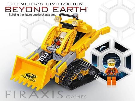 Lego se apunta a sacar una colección para Civilization: Beyond Earth