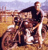 Steve McQueen, elegido icono histórico de los moteros
