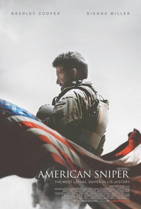 'El francotirador', carteles