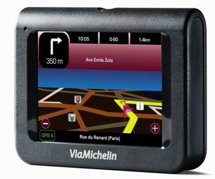 Nuevos navegadores GPS de ViaMichelin