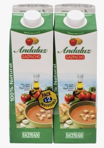 Gazpacho Andaluz Hacendado 1