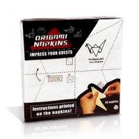 Servilletas Origami con instrucciones