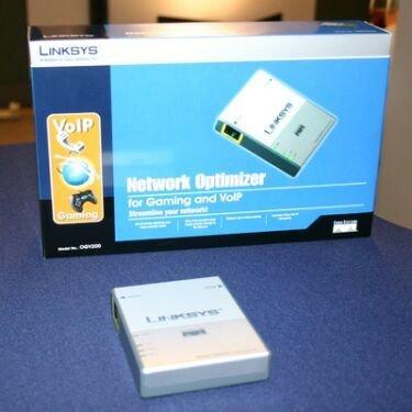 Linksys OGV200, router con priorización de tráfico