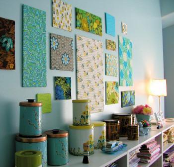 Hazlo tú mismo: tus propios cuadros textiles