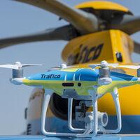 Los drones de la DGT ya multan en la campaña especial para motos centrada en zonas interurbanas