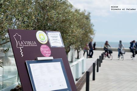 Restaurante La Viblia en Barcelona, buena cocina mediterránea mirando al mar