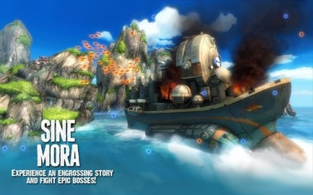 Sine Mora, el vistoso shoot'em up llega a Android