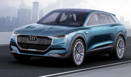 Audi e-tron quattro concept: un escaparate tecnológico con 500 kilómetros de autonomía eléctrica