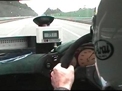 Así rozó los 391 km/h el McLaren F1 en 1998