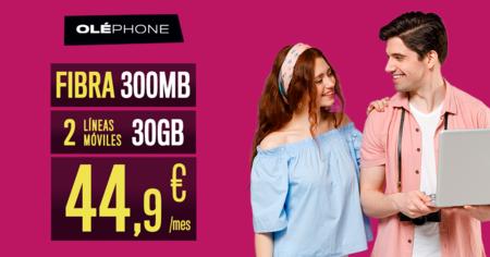 Nuevo combinado Oléphone con fibra y varias líneas móviles